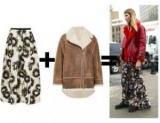 Зимова спідниця з верхнім одягом: як стильно поєднувати спідницю з курткою
