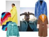 Плюшевий ведмедик: пухнасті пальто і жакети з кольорового штучного хутра