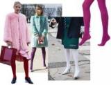 Капрону час, потісі годину: кольорові колготки знову в моді