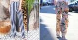 Брюки с принтом снова в моде: с чем носить