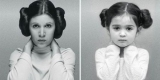 3-річна дівчинка відтворює фотографії знаменитих сильних жінок планети (Фото)